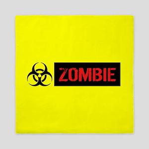 Zombie: Biohazard (Red, Black & Yellow Queen Duvet