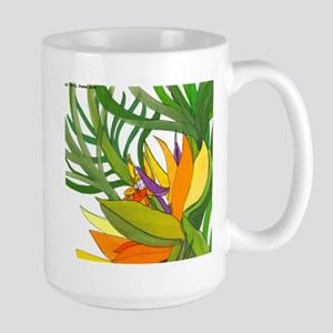 Bird of Paradise Flower Fairy Mugs