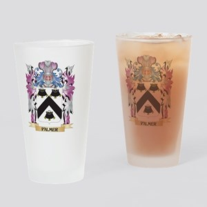 Palmer- Coat of Arms - Family Crest Drinking Glass