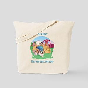 Barn Hunt Tote Bag