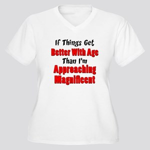 Better With Age Plus Size T-Shirt