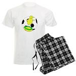 Canary Subbuteo - Norwich City FC Inspired pajamas
