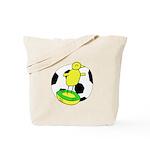 Canary Subbuteo - Norwich City FC Inspired Tote Ba