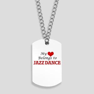 My heart belongs to Jazz Dance Dog Tags