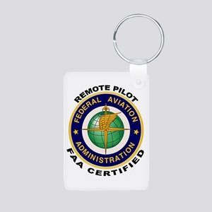 FAA Certified Remote Pilot Keychains