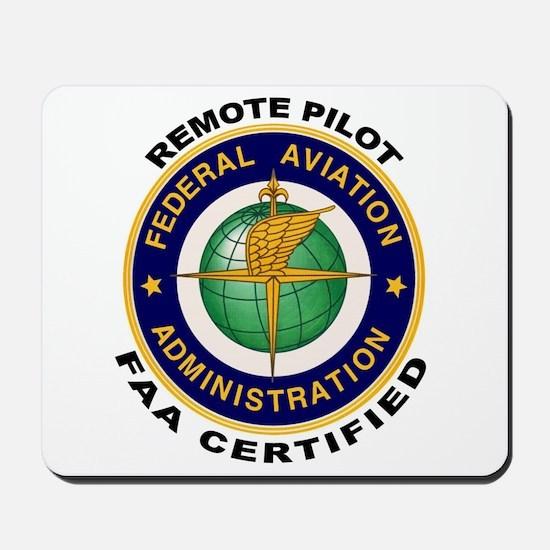 FAA Certified Remote Pilot Mousepad