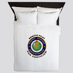 FAA Certified Remote Pilot Queen Duvet
