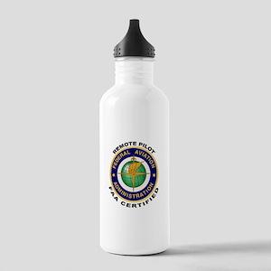 FAA Certified Remote Pilot Water Bottle
