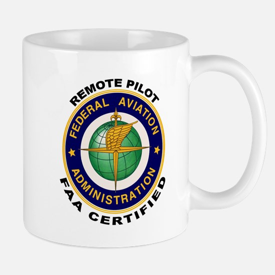 FAA Certified Remote Pilot Mugs