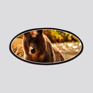 Bear On Log Patch