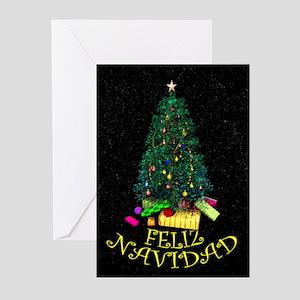 Feliz Navidad Greeting Cards (Pk of 10)