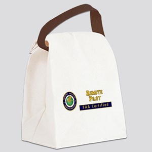 Faa Certified Remote Pilot Canvas Lunch Bag