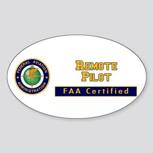 Faa Certified Remote Pilot Sticker