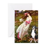 Windflowers / GSMD Greeting Card