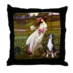 Windflowers / GSMD Throw Pillow