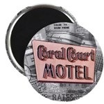 """100 pack - 2.25"""" Coral Court Magnet"""