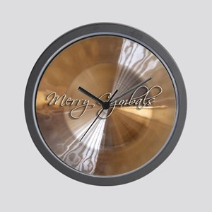 merry cymbals Wall Clock