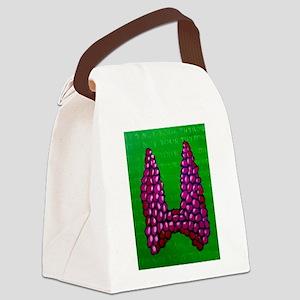 Thyroid 2 Canvas Lunch Bag