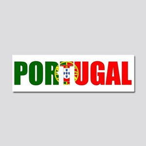 Portugal Car Magnet 10 x 3