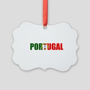 Portugal Picture Ornament