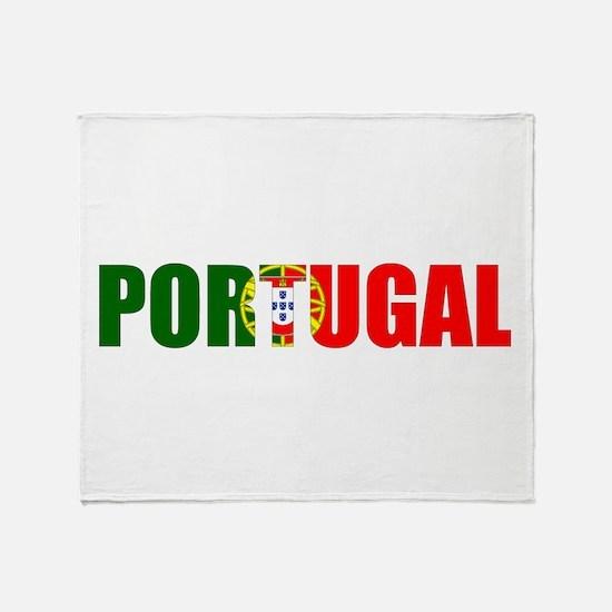 Portugal Logo Throw Blanket