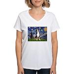 Starry Night / GSMD Women's V-Neck T-Shirt
