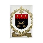 BOUCHARD Family Crest Rectangle Magnet (10 pack)