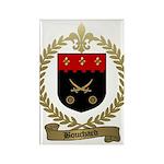BOUCHARD Family Crest Rectangle Magnet (100 pack)