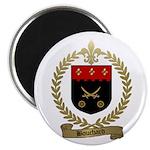 BOUCHARD Family Crest Magnet