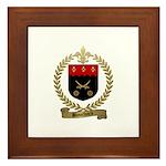 BOUCHARD Family Crest Framed Tile