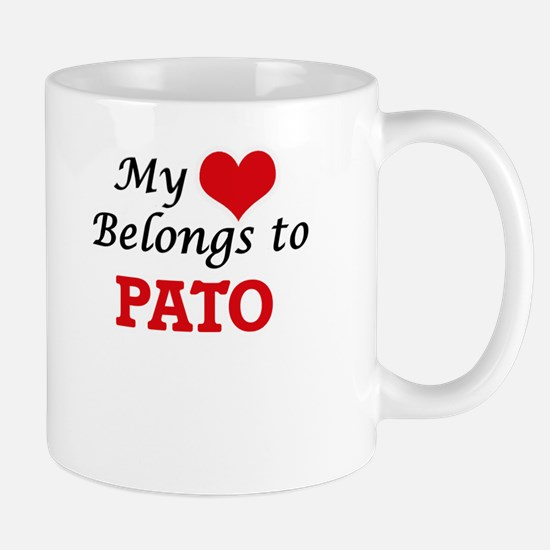 My heart belongs to Pato Mugs