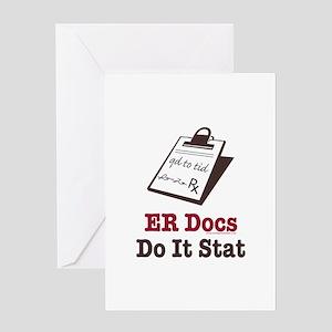 Funny Doctor ER Doc Greeting Card