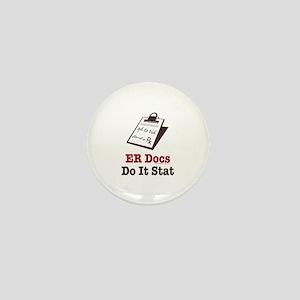 Funny Doctor ER Doc Mini Button