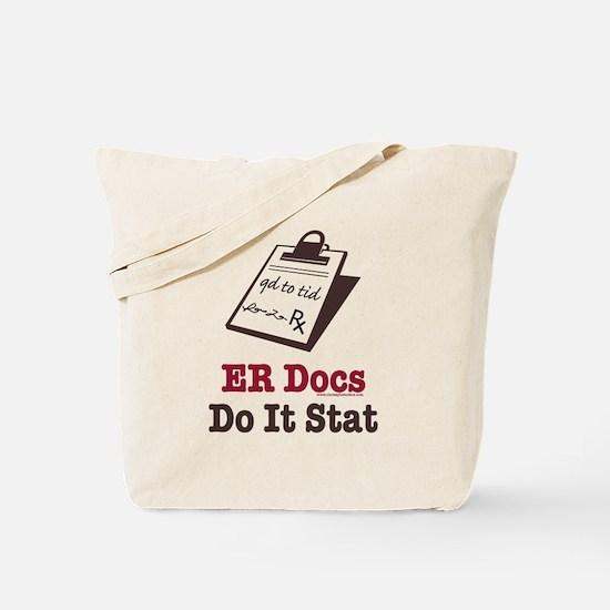 Funny Doctor ER Doc Tote Bag