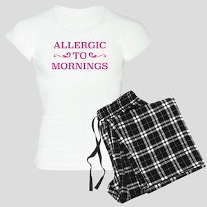 Allergic To Mornings Women's Light Pajamas