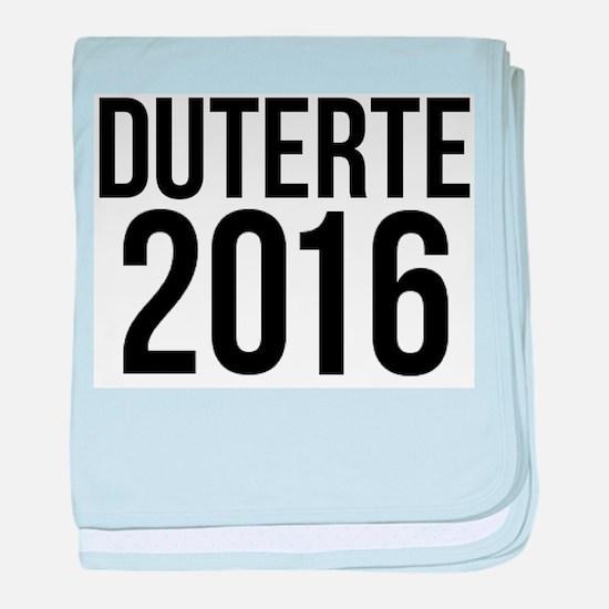 Duterte 2016 baby blanket