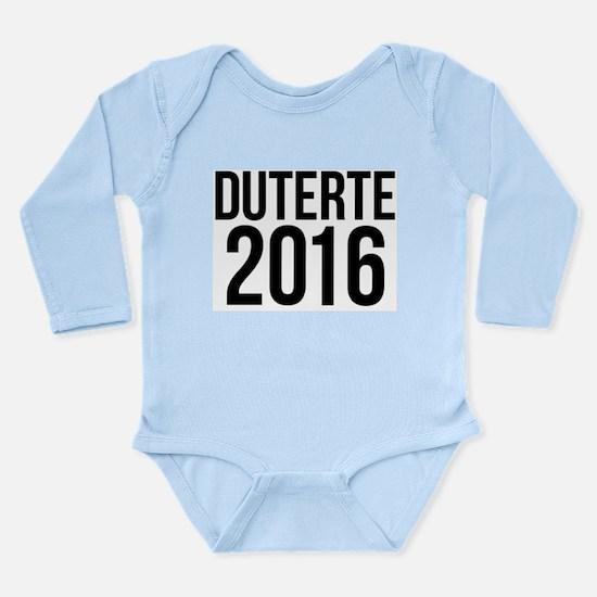 Duterte 2016 Body Suit
