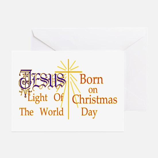 Jesus Light of the World Greeting Cards (Pk of 20)