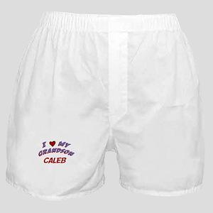 I Love My Grandson Caleb Boxer Shorts