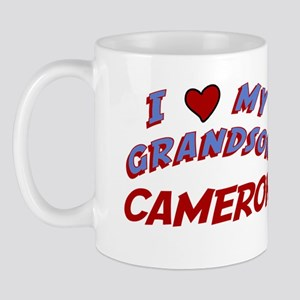 I Love My Grandson Cameron Mug