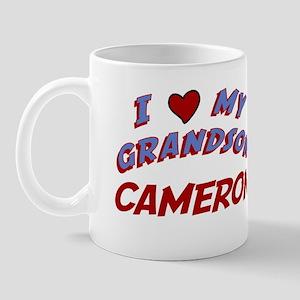 I Love My Grandson Cameron Mug