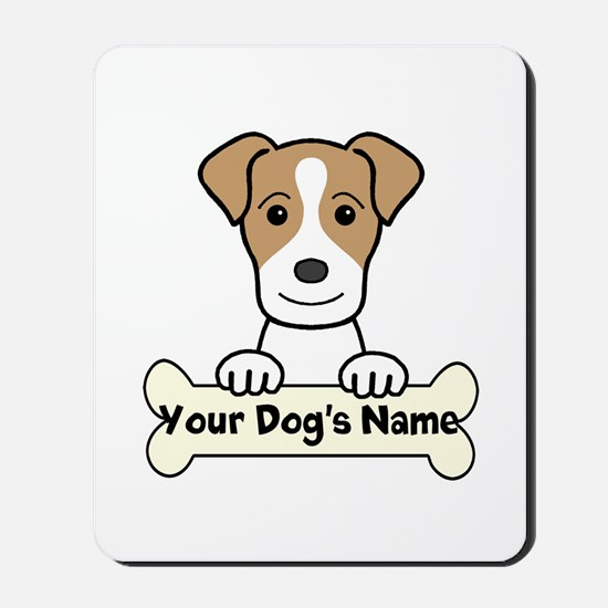 Personalized Jack Russell Mousepad