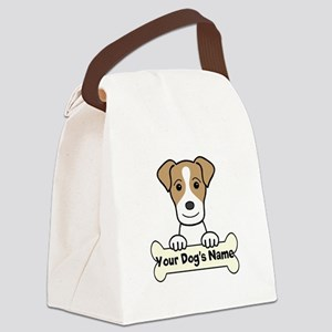 Personalized Jack Russell Canvas Lunch Bag