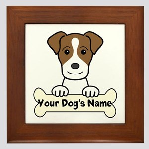 I Love My Granddog Jack Russell Wall Art Cafepress
