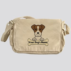 Personalized Jack Russell Messenger Bag