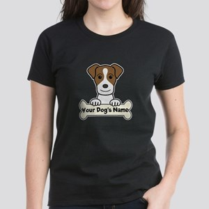 Personalized Jack Russell Women's Dark T-Shirt