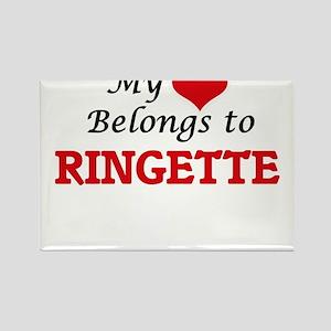 My heart belongs to Ringette Magnets