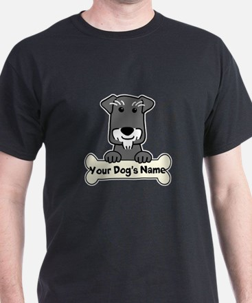 Personalized Mini Schnauzer T-Shirt