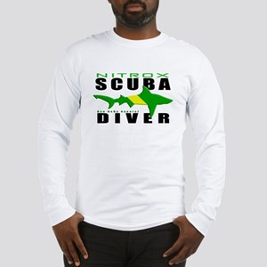 Scuba Diver: Nitrox Shark Long Sleeve T-Shirt