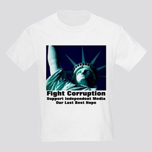 Support Independent Media Kids Light T-Shirt